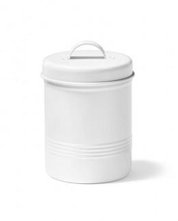 ricardo-contenant-pour-aliments-blanc-en-metal-de